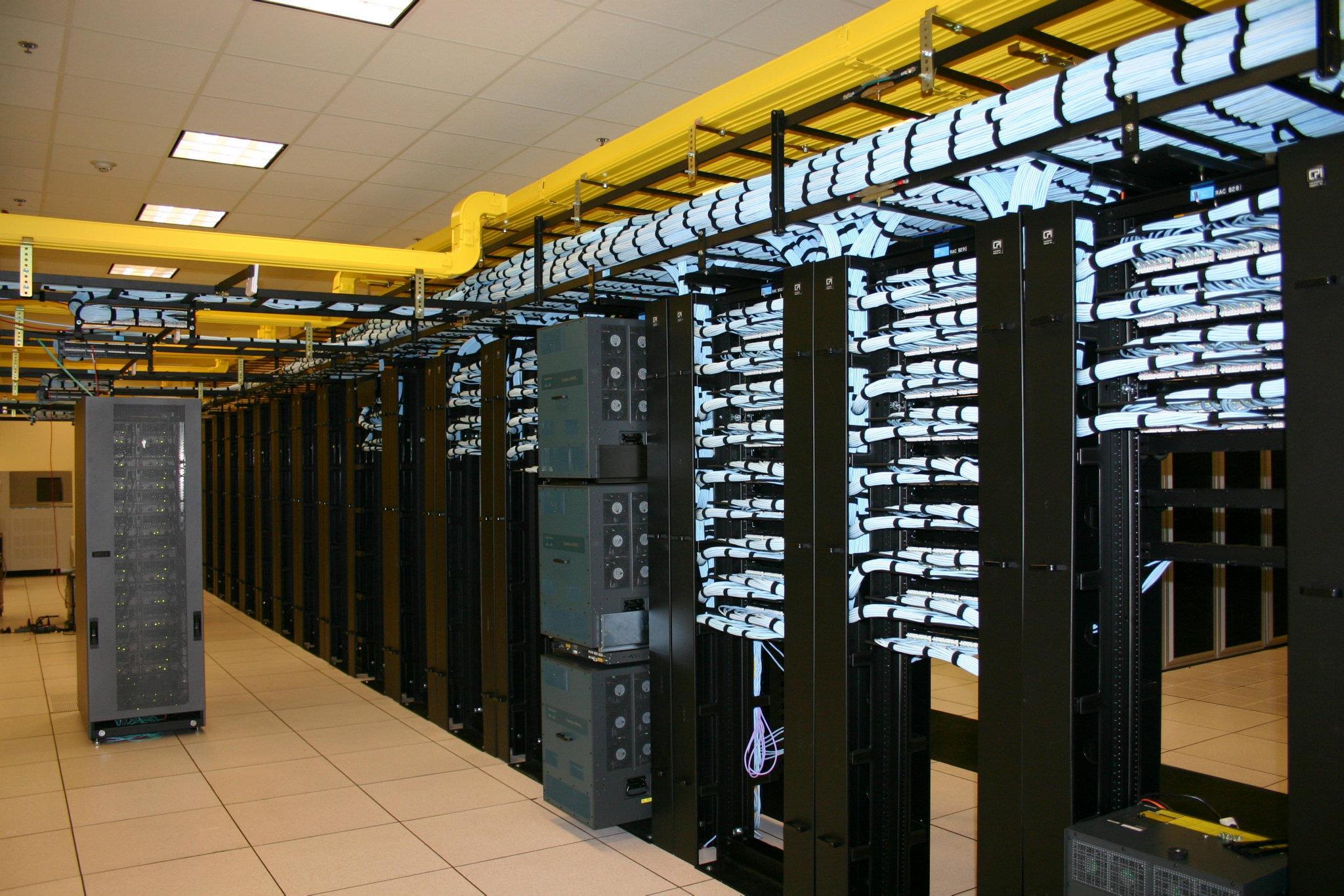 Data Cabling Server Centre