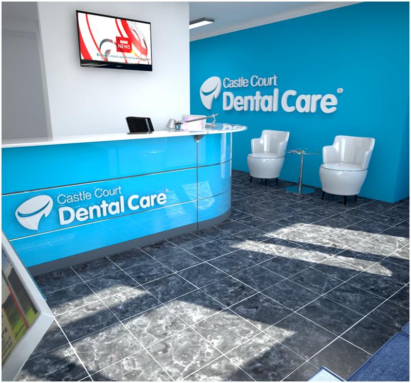 Castle Court Dental Care Reception
