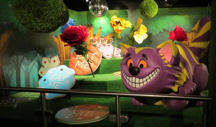 Specialist Models – Alice In Wonderland Exhibition Stand