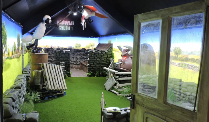 Specialist Models – Shaun The Sheep Exhibition Stand